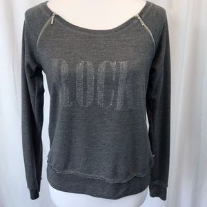 Rock & Republic Long Sleeve Sweatshirt Sz L